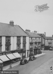 Bishop Auckland, Market Place c.1950