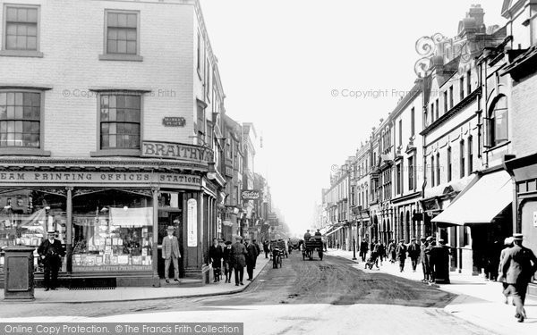 Photo of Bishop Auckland, Newgate Street 1914, ref. 67136