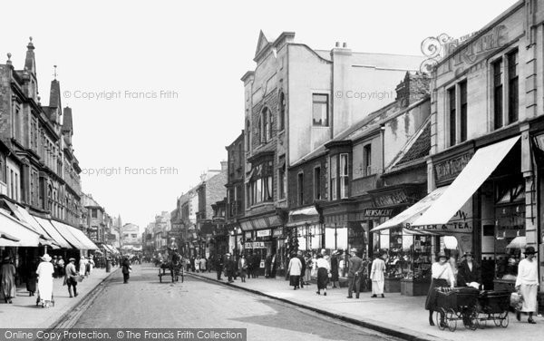 Photo of Bishop Auckland, Newgate Street 1923, ref. 74338