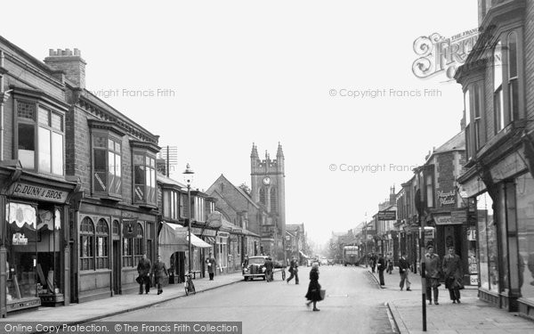 Photo of Bishop Auckland, Newgate Street 1951, ref. b102008