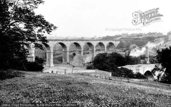 Photo of Bishop Auckland, Newton Viaduct 1898, ref. 41455