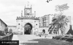 Bishop Auckland, Park Entrance c.1955