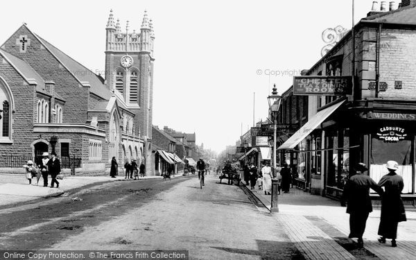 Photo of Bishop Auckland, South Road 1914
