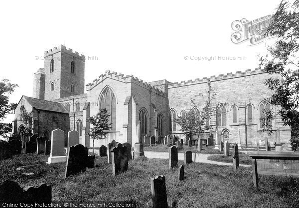 Photo of Bishop Auckland, St Andrew's Church 1892
