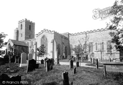 Bishop Auckland, St Andrew's Church 1892