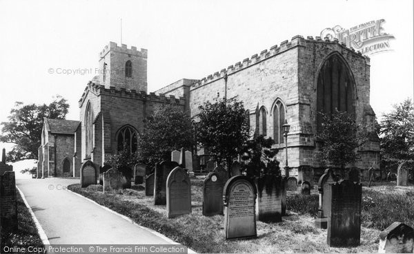 Photo of Bishop Auckland, St Andrew's Church 1898