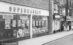 Bishop Auckland, Supermarket In Newgate Street c.1965