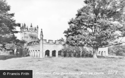 Bishop Auckland, The Deerhouse, Bishop's Park c.1950