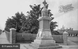 Bishop Auckland, War Memorial 1923