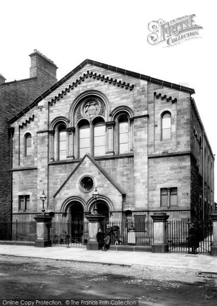 Photo of Bishop Auckland, Wesleyan Chapel 1898