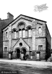 Bishop Auckland, Wesleyan Chapel 1898