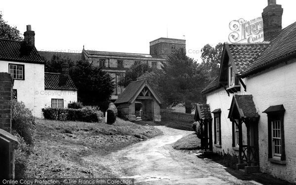 Bishop Burton, the Village Corner c1955
