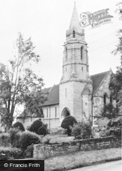 Bishop Monkton, Church Of St John The Baptist c.1960
