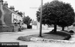 Bishop Monkton, Masons Arms And Stream c.1960