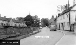 Bishop Monkton, The Village Stream c.1960