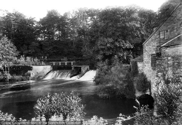 Bishop's Hull, The Mill 1906