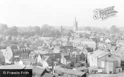 Bishop's Stortford, A Panorama View c.1960
