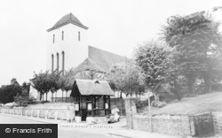 Bishop's Stortford, All Saints Church c.1965