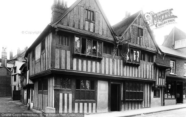 Bishop's Stortford, Black Lion Hotel 1899