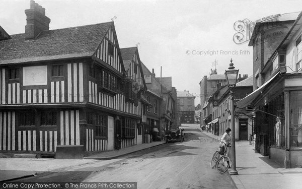Photo of Bishop's Stortford, Bridge Street 1922