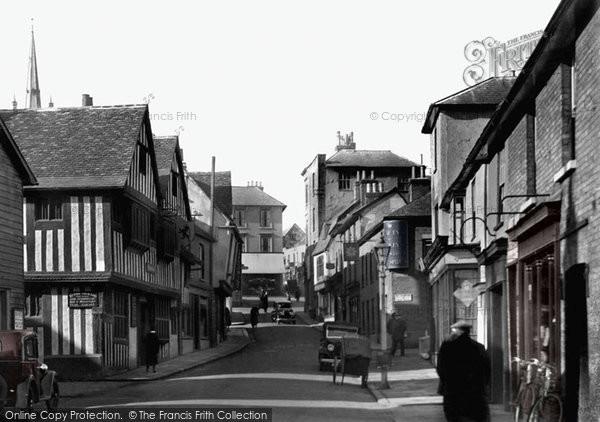 Bishop's Stortford, Bridge Street 1934