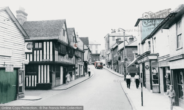 Bishop's Stortford, Bridge Street c.1965