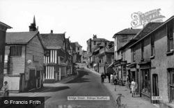Bridge Street c.1965, Bishop's Stortford
