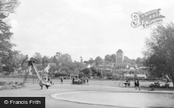 Bishop's Stortford, Children's Playground c.1960