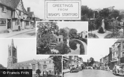 Bishop's Stortford, Composite c.1950