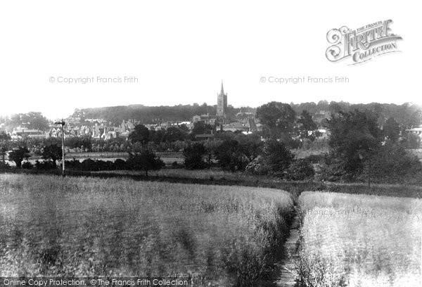 Bishop's Stortford, From Hockerill 1903