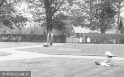 Bishop's Stortford, Gardener, The Recreation Ground 1909