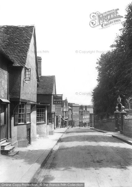Bishop's Stortford, High Street 1903