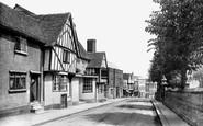 Bishop's Stortford, High Street 1922