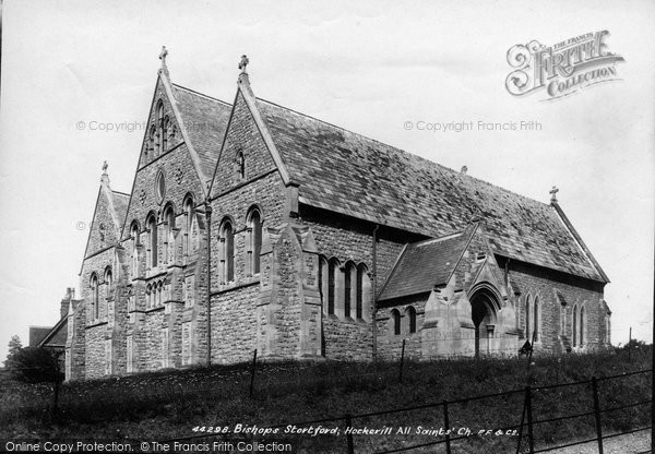 Bishop's Stortford, Hockerill Church 1899