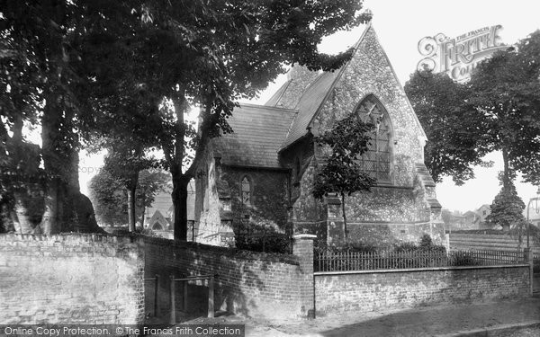 Bishop's Stortford, Holy Trinity Church 1899