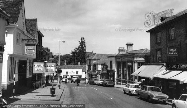 Bishop's Stortford, North Street c.1965