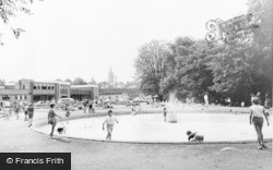 Bishop's Stortford, Playground c.1965