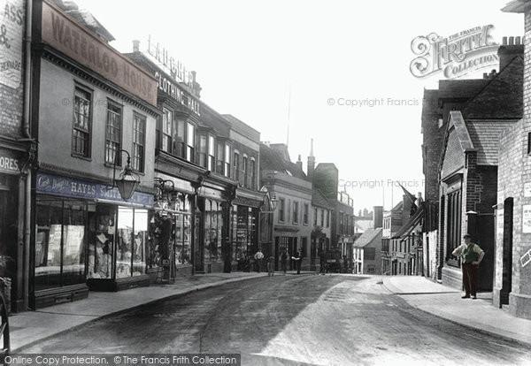 Bishop's Stortford, Potter Street 1903