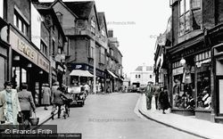 Bishop's Stortford, Potter Street c.1950