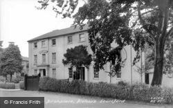 Rhodes' Birthplace c.1955, Bishop's Stortford