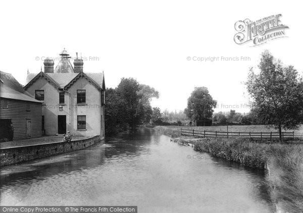 Bishop's Stortford, River Stort 1903