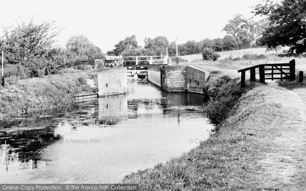 Bishop's Stortford, Southmill Lock c.1955