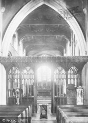 Bishop's Stortford, St Michael's Church Screen 1899