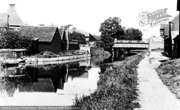 Bishop's Stortford, Station Bridge 1952