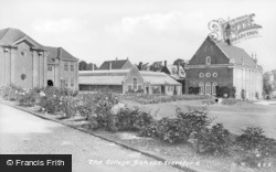 Bishop's Stortford, The College c.1950