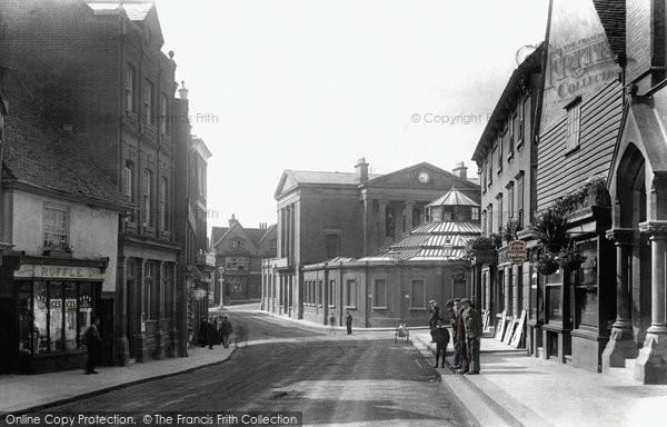 Bishop's Stortford, The Corn Exchange 1903
