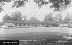 Bishop's Stortford, The Cricket Field c.1955