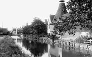 Bishop's Stortford, The Maltings On The River Stort 1903