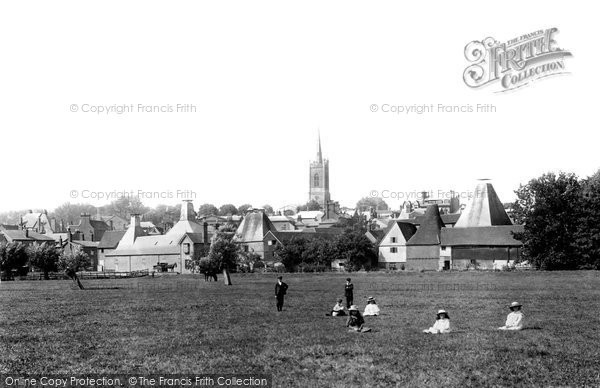 Bishop's Stortford, The Meads 1899