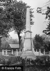 Bishop's Stortford, the War Memorial 1922